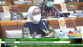 LIVE STREAMING - Komisi IX DPR RI Rapat Kerja dengan Menteri Kesehatan RI