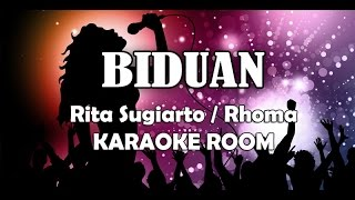Download BIDUAN Karaoke - Rita Sugiarto, Lirik Lagu Karaoke Dangdut No Vocal Mp3