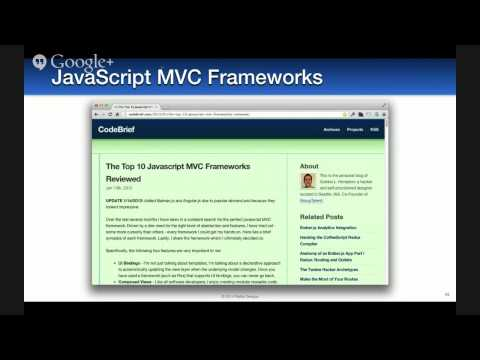 """Comparing JVM Web Frameworks"" by Matt Raible"