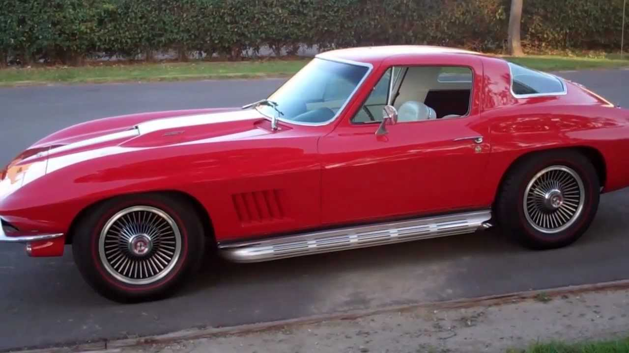 sold c2 1967 chevrolet corvette 427 400hp coupe rally red for 4 sale by corvette mike youtube. Black Bedroom Furniture Sets. Home Design Ideas