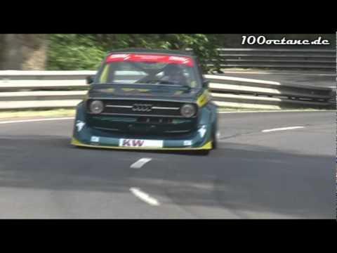 Schneider Audi 50 8V - Bernd Deutsch - European Hill Race Eschdorf 2011