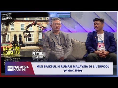 Misi Baikpulih Rumah Malaysia Di Liverpool | MHI (6 Mac 2019)