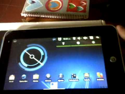 tablet mid via wm8650.3GP con android 2.4 honeycomb