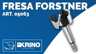 Fresa Forstner art. 05063 - Krino Cutting Tools