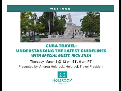Cuba Travel – Understanding the Latest Guidelines with special guest, Rich Shea