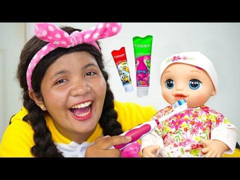 Brush Your Teeth Song Nursery Rhymes for Kids #2