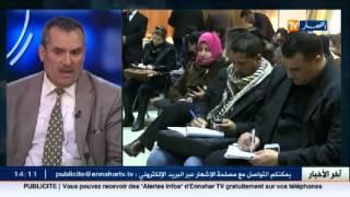الأستاذ بكلية الاعلام والاتصال العيد زغلامي ضيف بلاطو قناة النهار تي في