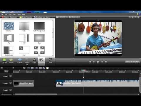 ສອນ      ulead videostudio    +   sony vegas pro   +  camtasia studio   ບົດທີ 1
