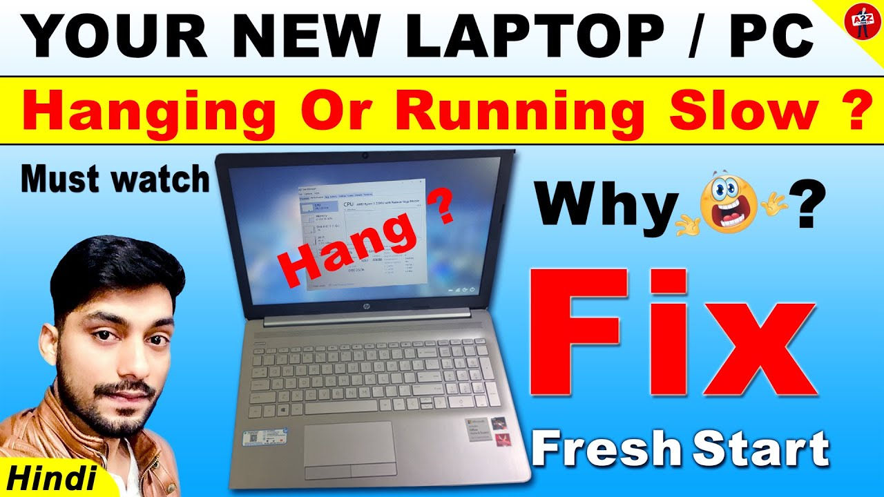 New Laptop Hanging Problem How To Fix Hang Laptop Windows 10 How To Solve Laptop Hanging Problem Youtube
