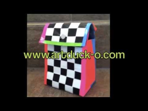 How To Make a Lunch Sack out of Duct Tape