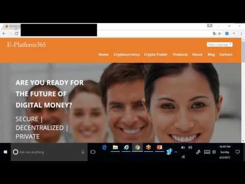 E Platform365 English Webinar