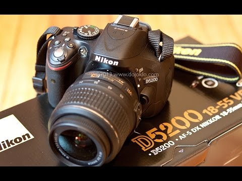 Nikon D5200 W Kit 18 55mm Vr Ii Unboxing And First Impressions From Amazon Youtube