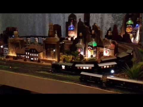 Modelleisenbahn Kentucky mit Disco Sound Radio