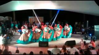 Baile Tambora. Cuerpo de Danzas Kalenda Montería