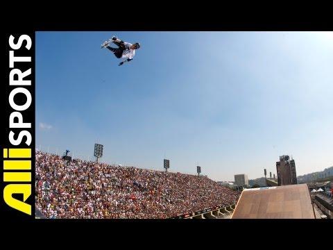 Best Of MegaRamp Skateboarding Rio 2012, Alli Sports