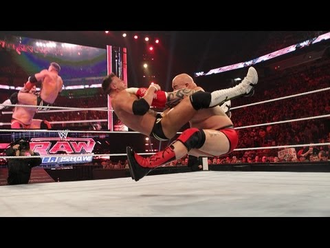 Alex Riley vs. Lord Tensai: Raw, April 2, 2012