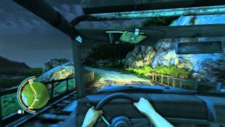 Far Cry 3 Free Roam with Cars(car crash moments)
