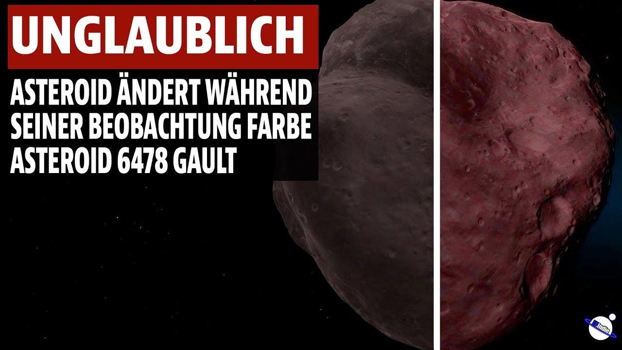 Unglaublich - Asteroid ändert während Beobachtung Farbe - Asteroid 6478 Gault