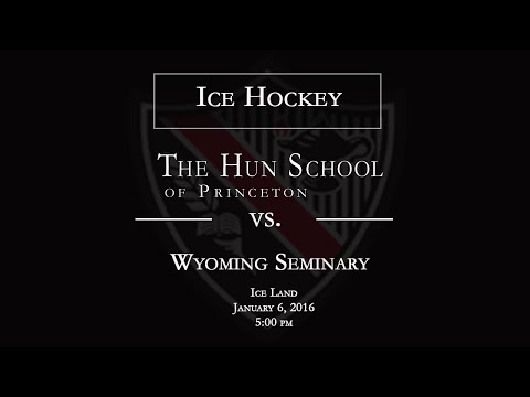 The Hun School of Princeton Ice Hockey vs. Wyoming Seminary