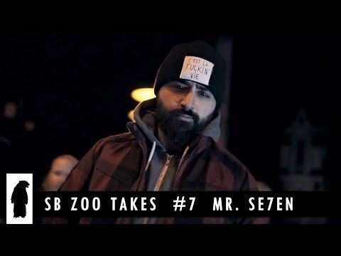 SB ZOO TAKES # 7  Mr. Se7en