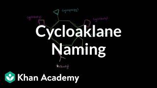 Naming a cycloalkane | Organic chemistry | Khan Academy