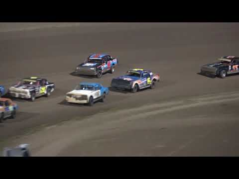 9/2/2017 Junction Motor Speedway Hobby Stock Feature (6R - 4th place)