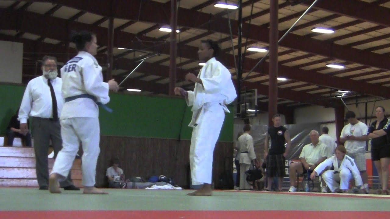 Nora Baur ~ 2013 North vs South Judo Championships