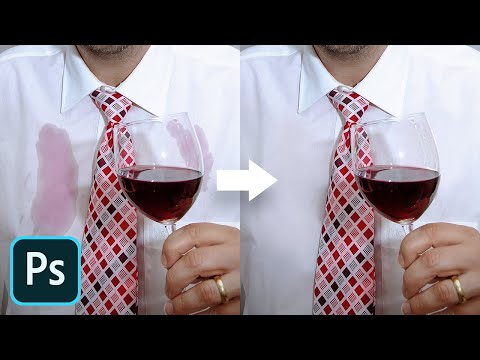 Remove ANY Stain with Frequency Separation! - Photoshop Tutorial