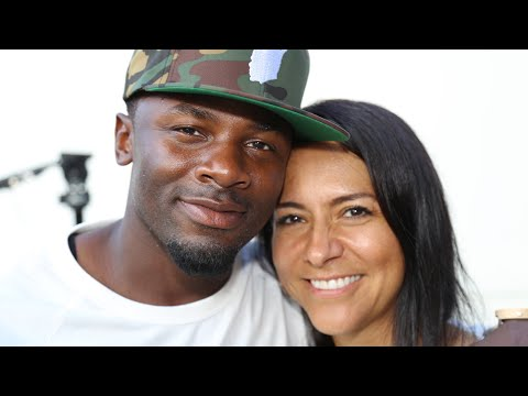 Actor Derek Luke & Beautiful Wife Give Back To His Community
