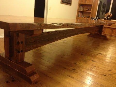 Building a Farm Table