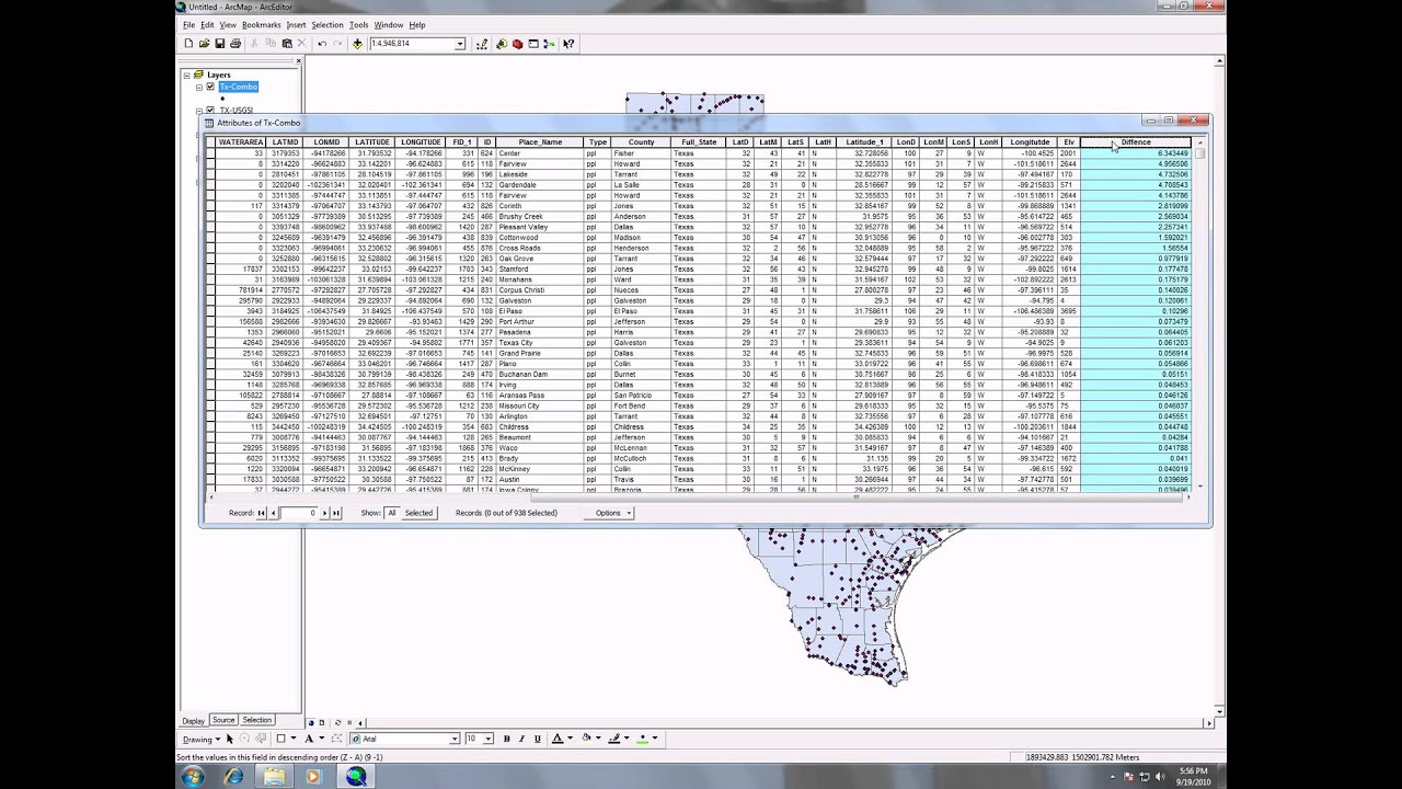 Using Field Calculator in ArcMap