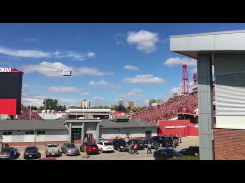Calgary Stampeders - 2016 Labour Day Classic CF-18 Fly By