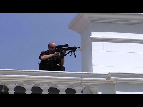 Cerraron la Casa Blanca por un supuesto tiroteo dentro del complejo presidencial