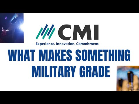 What Makes Something Military Grade