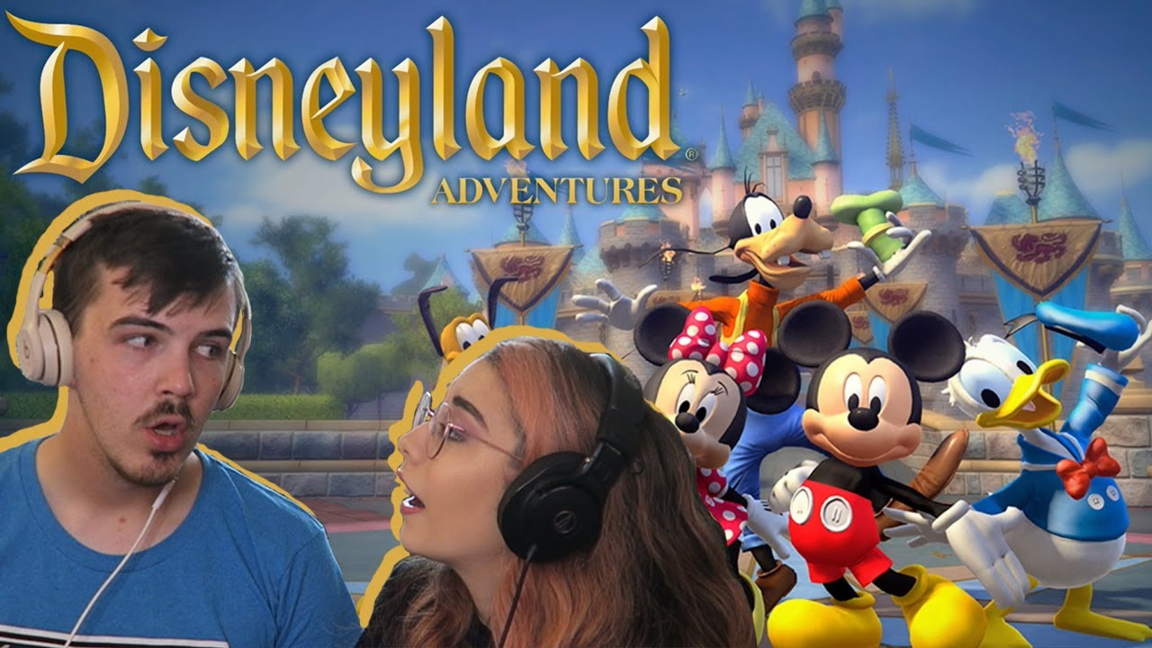 Sneaking into DISNEYLAND (aka just playing a video game)