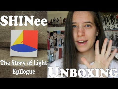 Unboxing - SHINee - The Story Of Light Epilogue - 6th Album Repackage