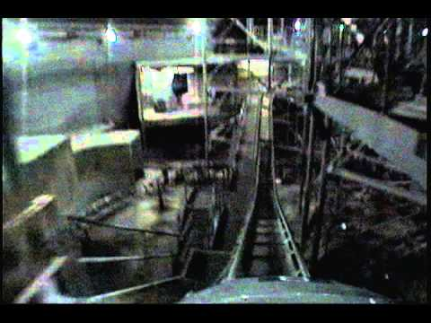 POV of both sides of Space Mountain (lights on) - YouTube
