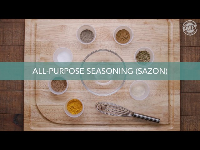 CHEF Culinary Skills: Spice Rubs