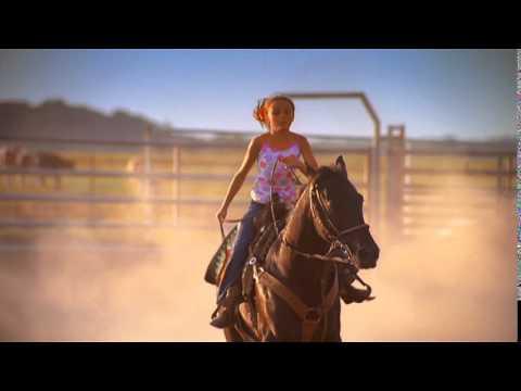 Oklahoma Farm Bureau Insurance Ad - Barrel Racer