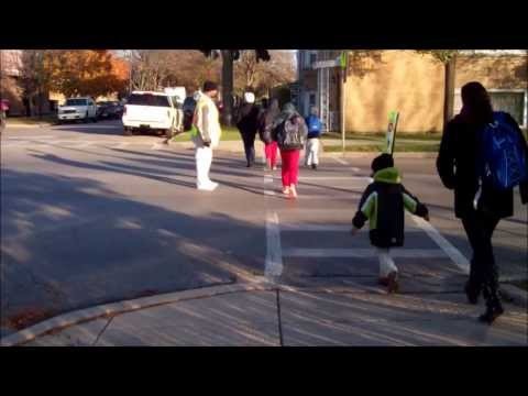 Spotlight Series: Parents Prevent Accidents Outside Reinberg Elementary School