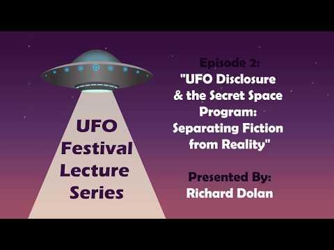 UFO Disclosure & the Secret Space Program || Exeter UFO Festival 2017