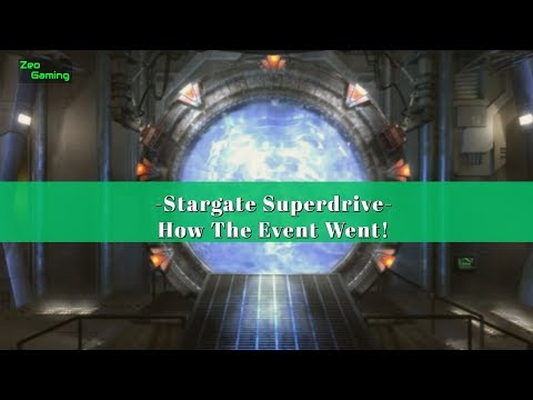 Stargate Superdrive - How It Went!