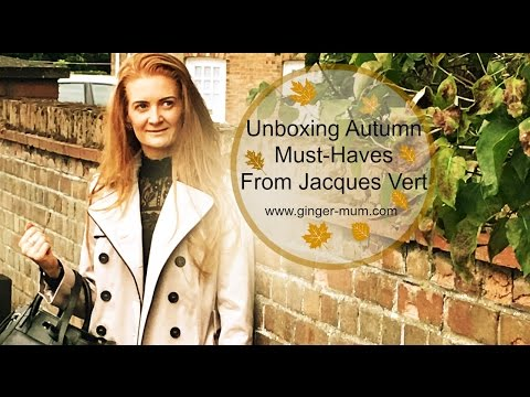 Unboxing New Jacques Vert Trench & A/W16 Handbag