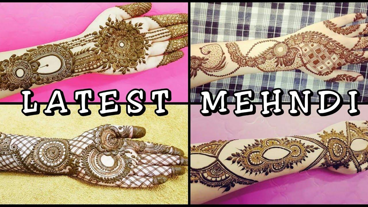 Unique and Beautiful Mehndi Designs||Latest 2018 Mehndi Designs