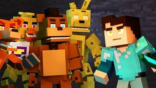 "♫""Freddy's Comes to Minecraft"" (MINECRAFT FNAF ANIMATION)"