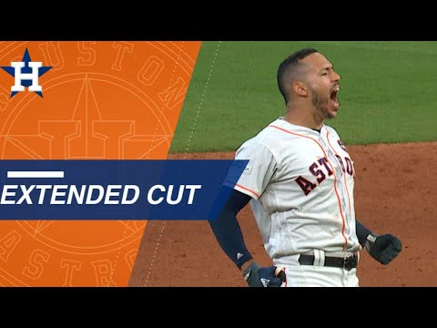 Extended Cut of Correa's walk-off double in Game 2
