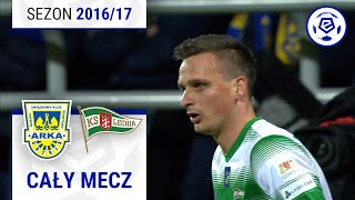 Arka Gdynia - Lechia Gdańsk [1. połowa] sezon 2016/17 kolejka 14