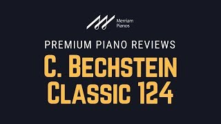 🎹 C. Bechstein Classic 124 Upright Piano (R124) -  All Playing! No Talking 🎹
