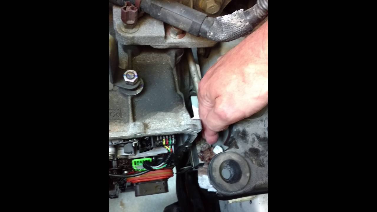 medium resolution of ford edge transmission trouble tss and oss replace vid 3