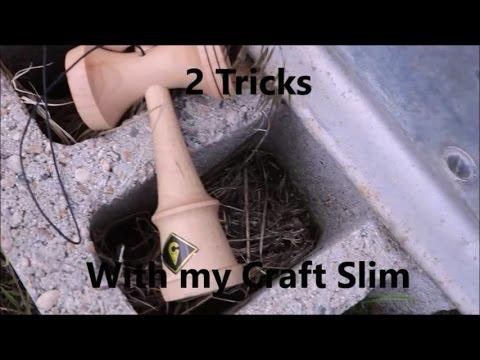 2 Tricks With My Kaizen Craft Slim  +  YANK SPIKES!